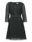 Платье-мини из хлопка с рукавами 3/4 Diane von Furstenberg  –  Общий вид