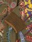 Платье-миди из шерсти с узором Etro  –  Деталь1