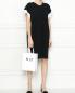 Платье из хлопка и шелка с контрастной отделкой MRZ  –  МодельОбщийВид