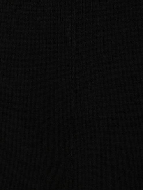 Платье-мини из трикотажа с контрастной вставкой  - Деталь1