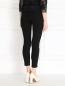Трикотажные брюки с прозрачными вставками Kira Plastinina  –  Модель Верх-Низ1