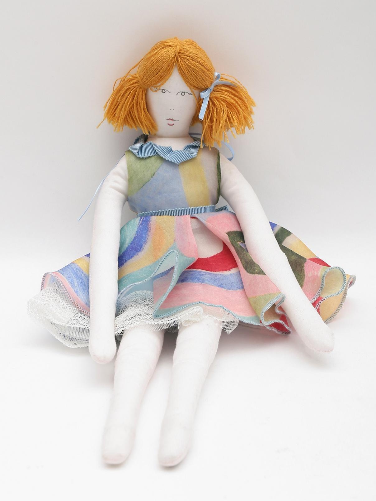 Кукла в платье MiMiSol  –  Общий вид  – Цвет:  Мультиколор
