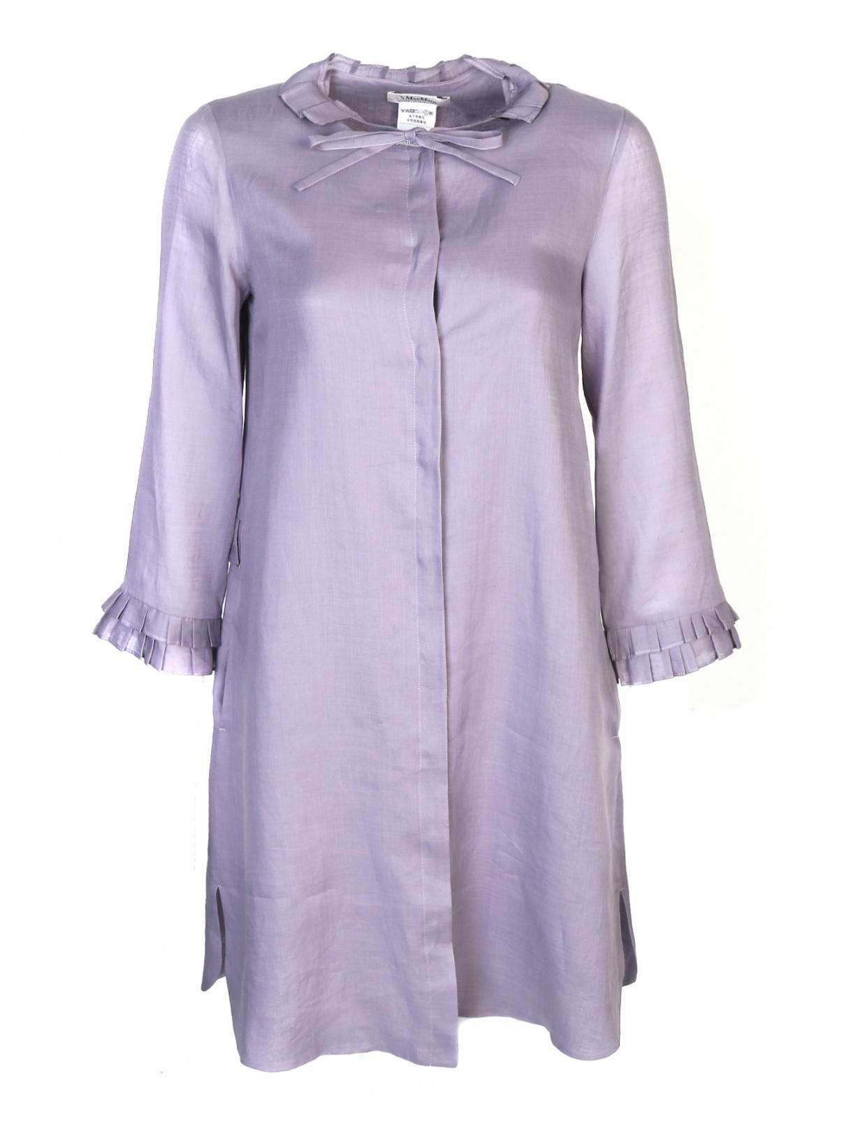 Платье свободного кроя с боковыми карманами Max Mara  –  Общий вид