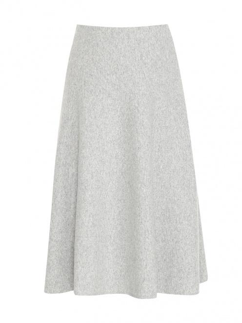 Трикотажная юбка-миди из шерсти  - Общий вид