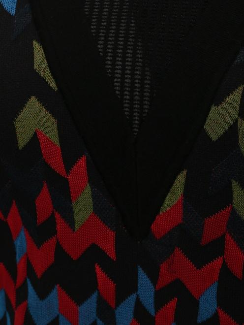 Платье-мини с узором - Деталь1