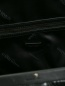 Сумка из фактурной кожи на короткой ручке Marina Rinaldi  –  Деталь1