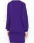 Платье-мини из трикотажа с контрастной отделкой Isabel Marant  –  МодельВерхНиз1