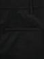Брюки из хлопка с молнией по бокам Jil Sander  –  Деталь
