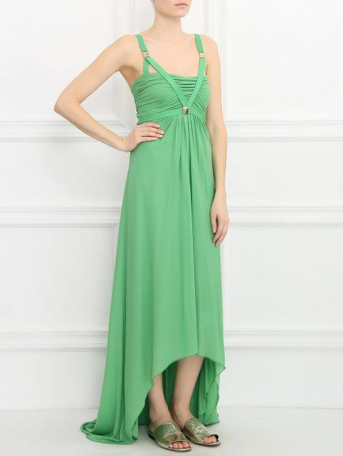 Платье-макси с декором - Общий вид