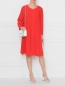 Платье свободного кроя на пуговицах Pietro Brunelli  –  МодельОбщийВид