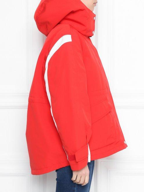 Куртка с капюшоном на молнии - МодельВерхНиз2