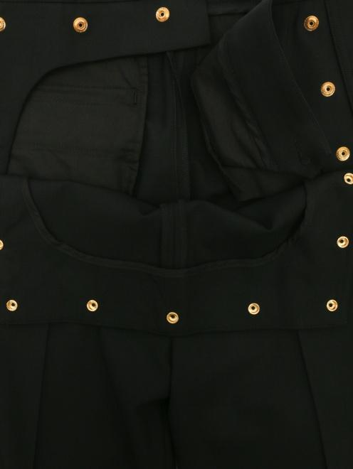 Брюки из шерсти прямого кроя - Деталь1