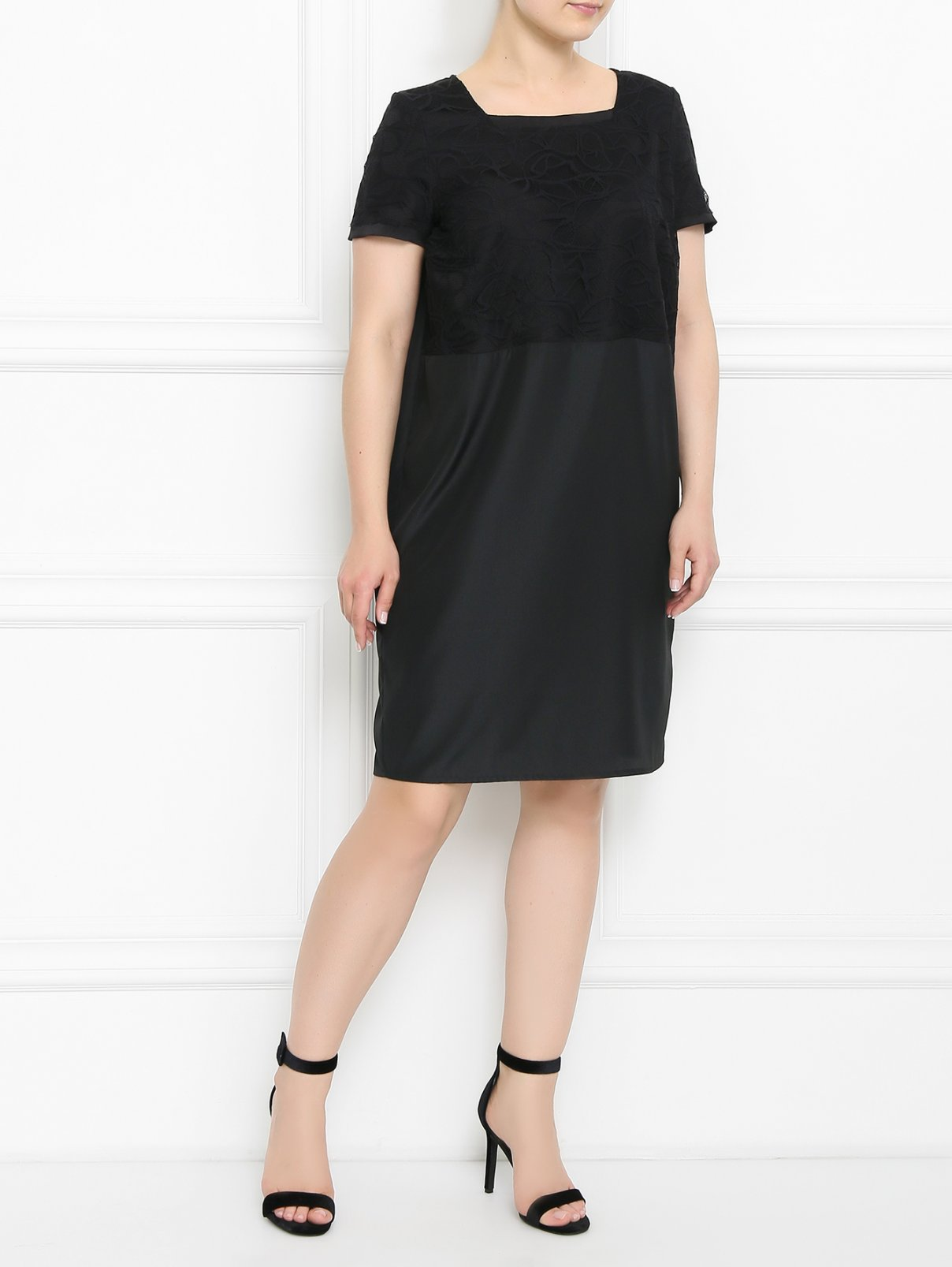 Платье с кружевной отделкой Marina Rinaldi  –  Модель Общий вид