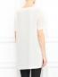 Платье свободного кроя из шелка с узором Barbara Bui  –  Модель Верх-Низ1