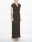 Плиссированное платье с кружевной отделкой P.A.R.O.S.H.  –  МодельВерхНиз