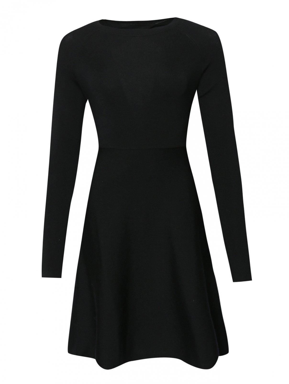 Платье из шерсти с открытой спиной Mo&Co  –  Общий вид