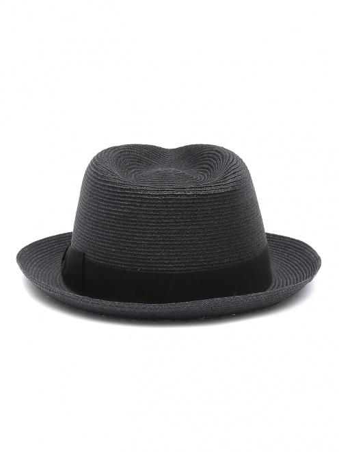Шляпа из соломы с лентой  - Обтравка2