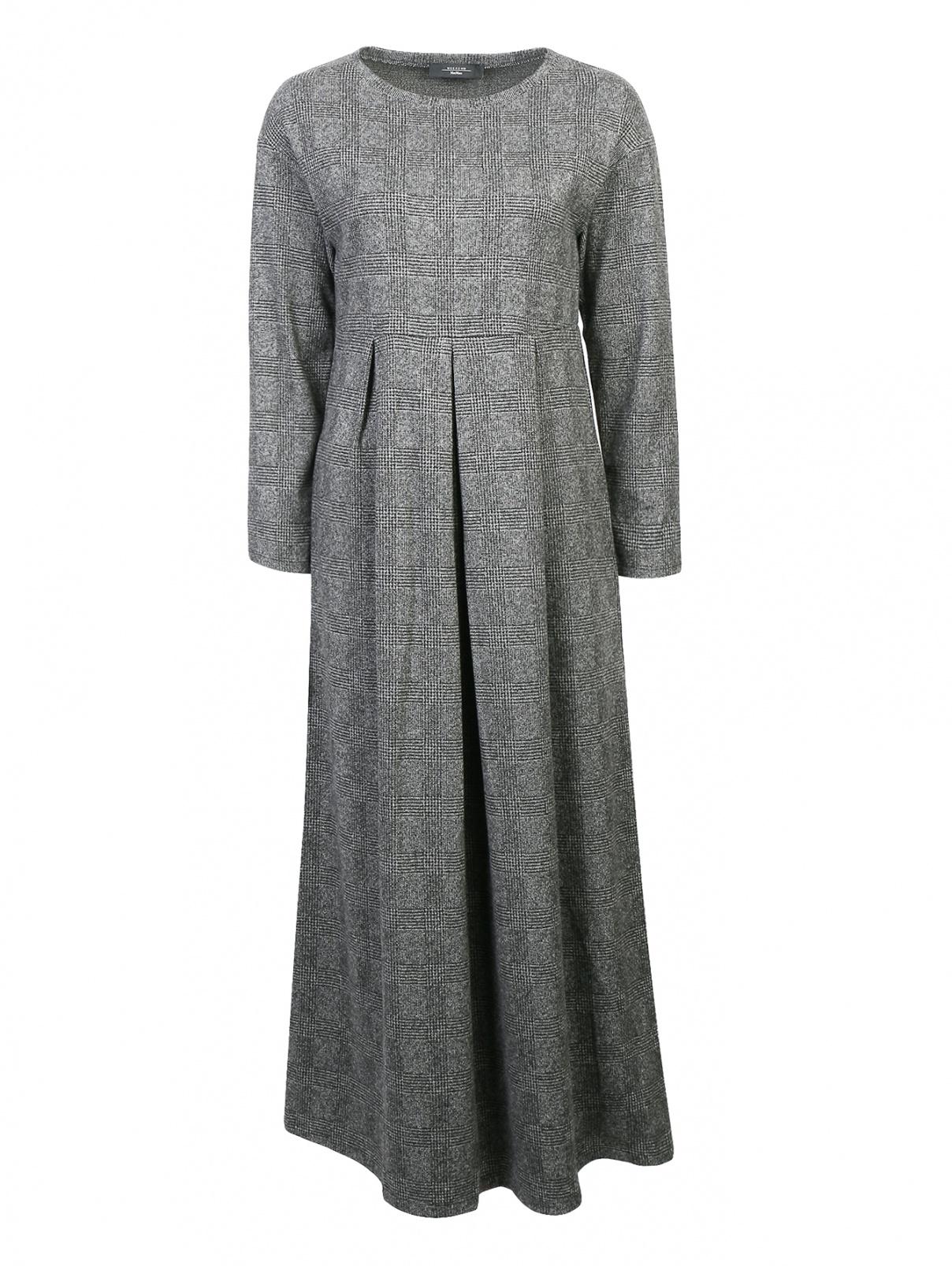 Платье-миди с узором Weekend Max Mara  –  Общий вид