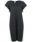 Платье из хлопка и шелка с контрастной отделкой MRZ  –  Общий вид