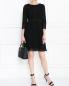 Платье-мини из хлопка с рукавами 3/4 Diane von Furstenberg  –  МодельОбщийВид