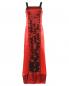 Платье-макси из шелка с аппликацией и вышивкой из бисера Philosophy di Alberta Ferretti  –  Общий вид