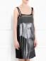 Платье-мини декорированное пайетками Philosophy di Alberta Ferretti  –  Модель Верх-Низ
