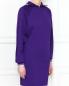 Платье-мини из трикотажа с контрастной отделкой Isabel Marant  –  МодельВерхНиз