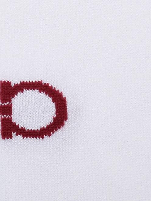Носки хлопковые с логотипом  - Деталь
