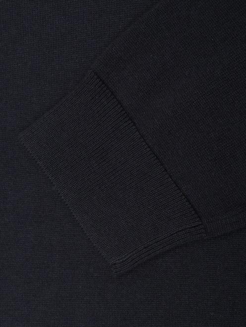 Джемпер из хлопка и шерсти на молнии  - Деталь1