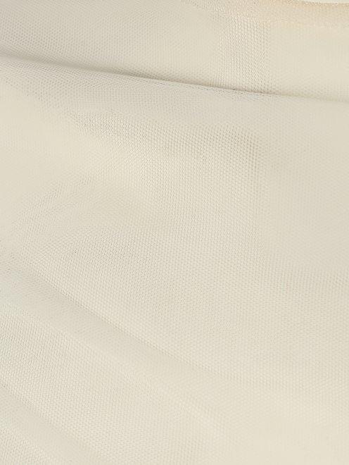 Футболка из сетки с длинным рукавом - Деталь