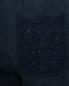 Брюки из льна на кулиске 120% Lino  –  Деталь