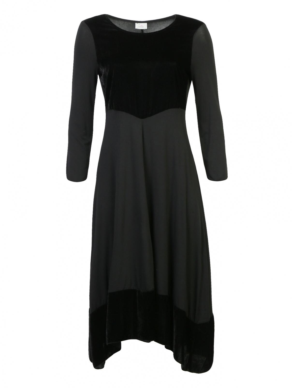 Платье-миди приталенного кроя DEHA  –  Общий вид
