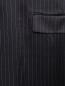 Платье-миди на бретелях с узором полоска DKNY  –  Деталь1