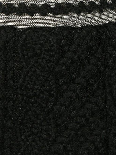 Кружевная юбка из шерсти - Деталь1