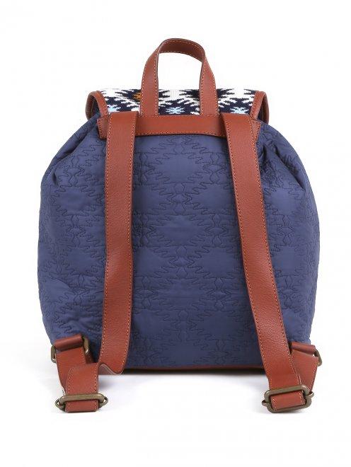 Рюкзак с принтоваными вставками  - Обтравка2