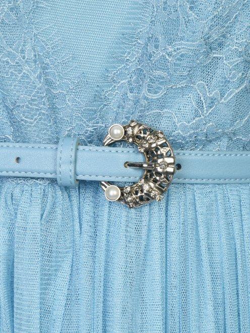 Платье-макси с кружевным узором - Деталь1