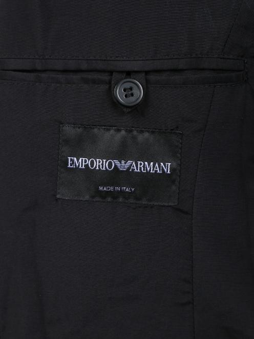 Пиджак из шерсти и шелка - Деталь2