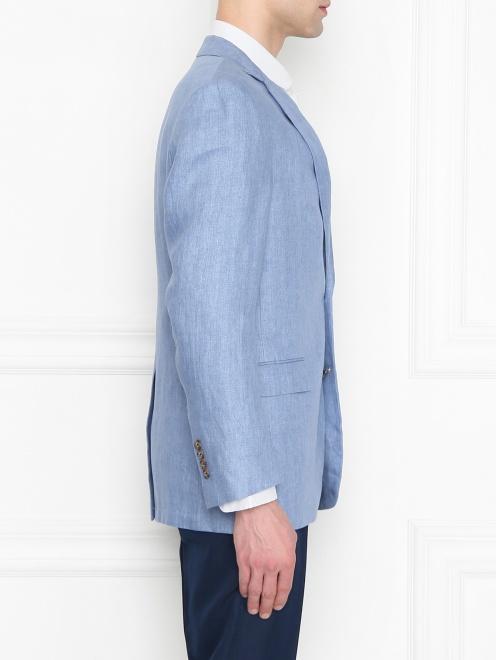Пиджак из льна - МодельВерхНиз2