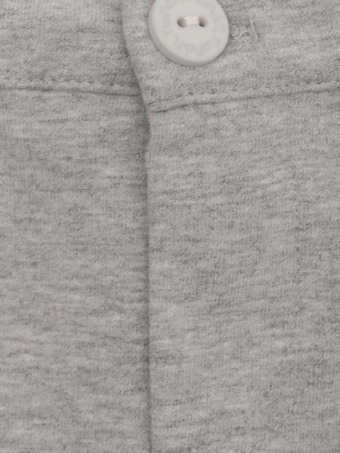 Брюки трикотажные с карманами - Деталь1