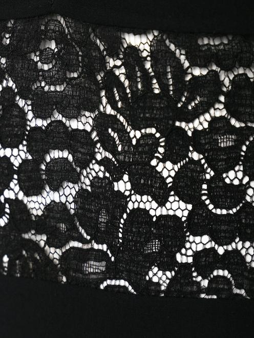 Платье-макси со вставками из кружева - Деталь