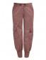 Укороченные брюки с накладными карманами и декоративной отделкой ICEBERG  –  Общий вид