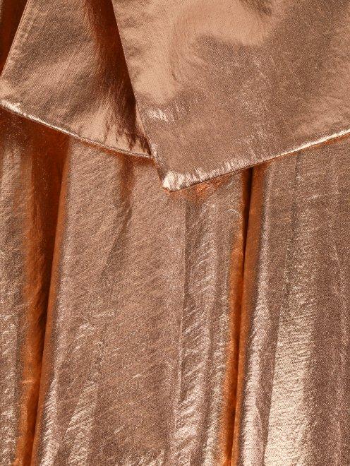 Юбка из хлопка с декоративным бантом - Деталь1