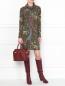 Платье из шерсти с узором Etro  –  МодельОбщийВид