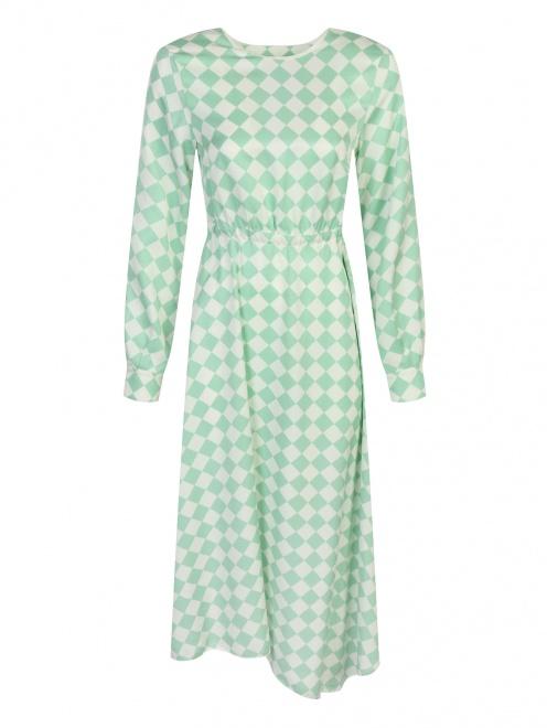 Платье с узором - Общий вид