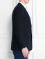 Пиджак однобортный из шерсти Isaia  –  Модель Верх-Низ