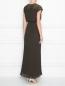 Плиссированное платье с кружевной отделкой P.A.R.O.S.H.  –  МодельВерхНиз1