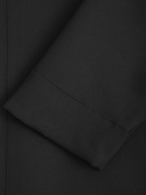 Платье прямого кроя с разрезами  - Деталь1
