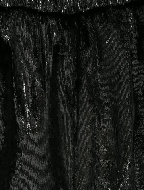Брюки из фактурной ткани на резинке - Деталь1
