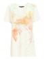 Платье свободного кроя из шелка с узором Barbara Bui  –  Общий вид