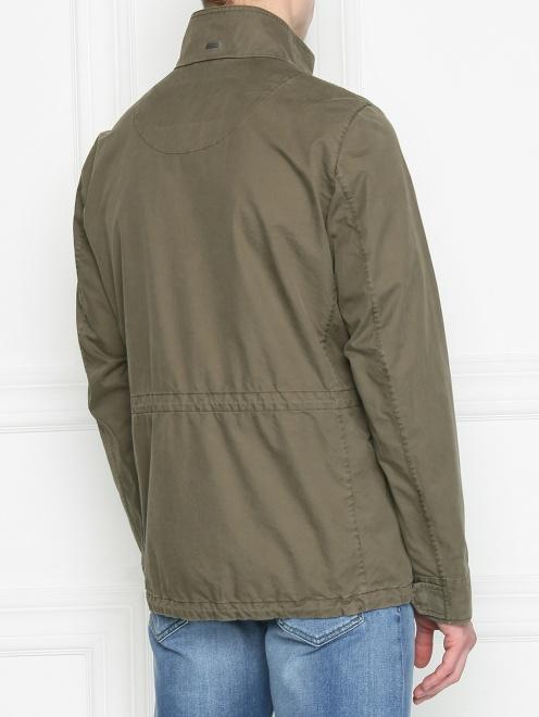 Куртка из хлопка с нашивками - МодельВерхНиз1